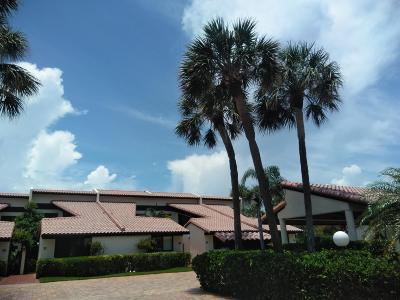 Palm Beach Townhouse For Sale: 3474 S Ocean Boulevard #0090