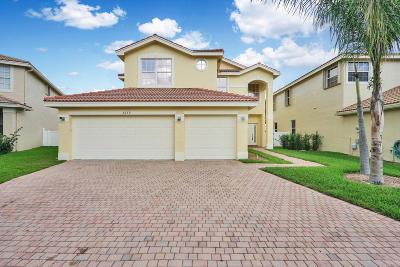 Greenacres FL Single Family Home For Sale: $459,000