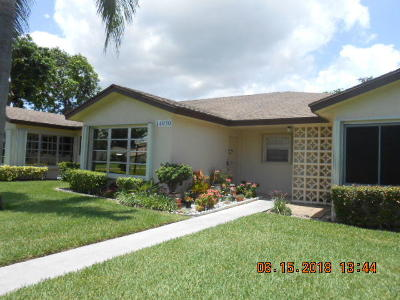 Delray Beach Single Family Home For Sale: 14050 Nesting Way #C