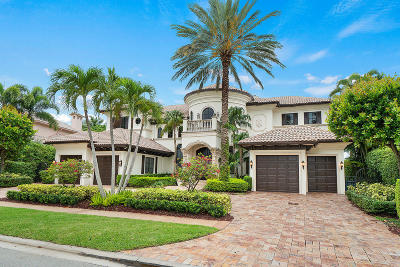 Boca Raton Single Family Home For Sale: 7663 Fenwick Place