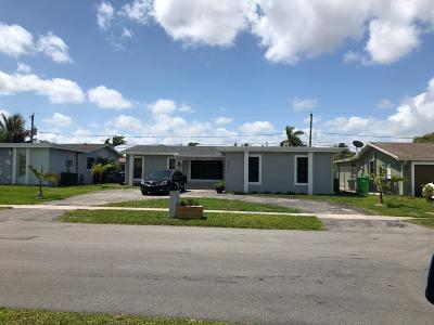 Sunrise Single Family Home For Sale: 9470 NW 24th Court