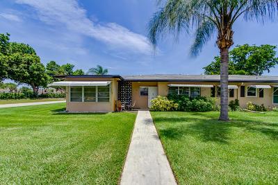 Delray Beach Condo For Sale: 1050 North Drive #A