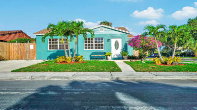 Lake Worth Single Family Home For Sale: 1829 Street