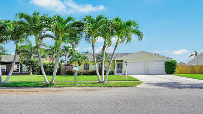 Lake Worth Single Family Home For Sale: 7815 Elwood Drive