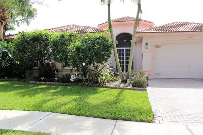 Boynton Beach Single Family Home For Sale: 11357 Ohanu Circle