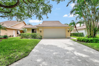 Jupiter Single Family Home For Sale: 185 Cape Pointe Circle