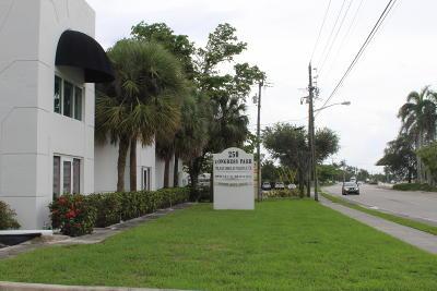 Delray Beach Commercial For Sale: 250 Congress Avenue #A