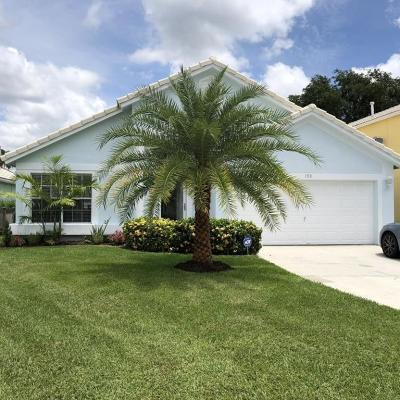 Jupiter Single Family Home For Sale: 153 Spoonbill Court