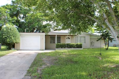 Fort Pierce Single Family Home For Sale: 1708 Wyoming Avenue