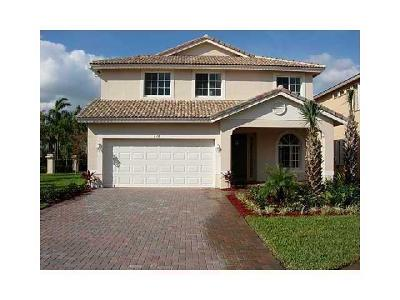 Royal Palm Beach Single Family Home For Sale: 176 Bellezza Terrace