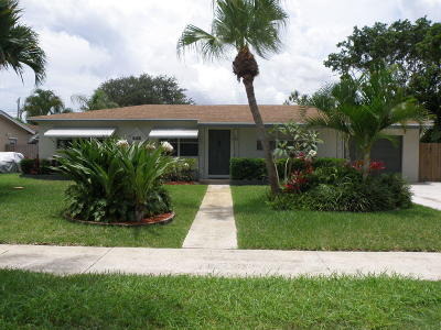 Lake Park Single Family Home For Sale: 646 Flagler Boulevard