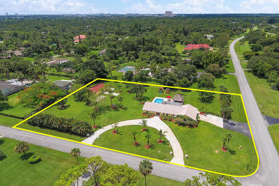Palm Beach Gardens Single Family Home For Sale: 8767 Nashua Drive