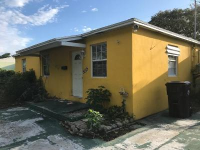 West Palm Beach Single Family Home For Sale: 3025 Ridgeway Avenue