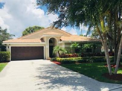 Jupiter Single Family Home For Sale: 394 Mallard Point