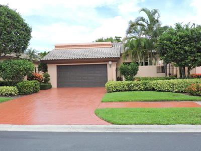 Boca Raton Single Family Home For Sale: 6518 Via Rosa