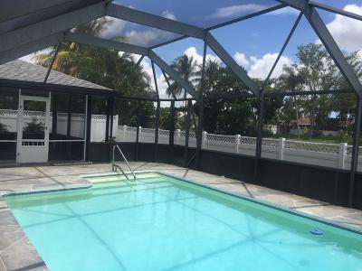 Boca Raton Single Family Home For Sale: 19518 Carolina Circle