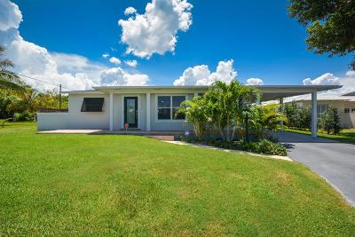 Boynton Beach Single Family Home For Sale: 3631 SE 1st Street