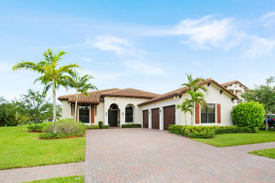 Lake Worth, Lakeworth Single Family Home For Sale: 6374 Grebe Court