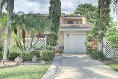 Boca Raton Townhouse For Sale: 6706 Canary Palm Circle