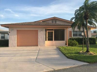 West Palm Beach Single Family Home For Sale: 3755 Da Vinci Circle