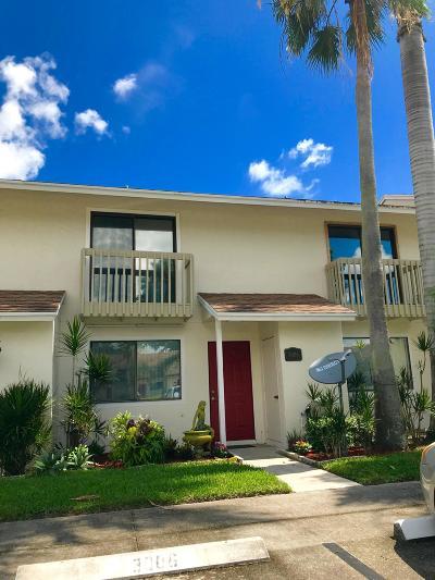 Greenacres FL Townhouse For Sale: $162,500