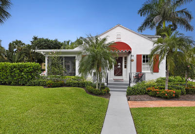 Delray Beach Single Family Home For Sale: 50 Palm Square
