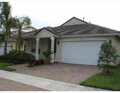 Port Saint Lucie FL Rental For Rent: $1,595
