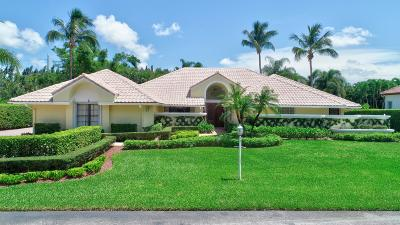 Boynton Beach Single Family Home For Sale: 4606 Gleneagles Drive