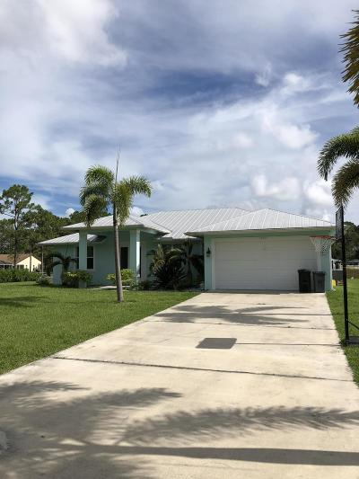 Jupiter FL Single Family Home For Sale: $489,900