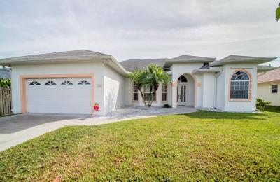 Port Saint Lucie, Saint Lucie West Single Family Home For Sale: 316 SE Fisk Road