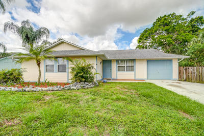 Port Saint Lucie Single Family Home For Sale: 1690 SW Angelico Lane