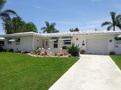 Boca Raton Single Family Home For Sale: 1154 SW 13th Street