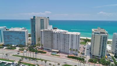 Miami Beach Condo For Sale: 5005 Collins Avenue #Ph8