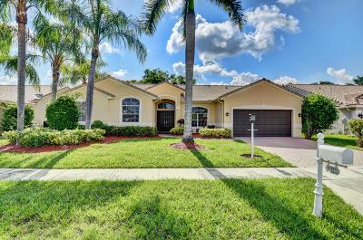 Boca Raton Single Family Home For Sale: 9323 Lake Serena Drive