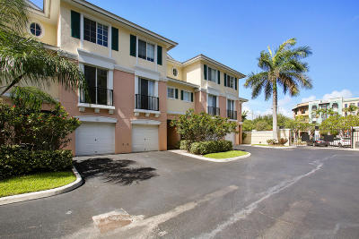 Delray Beach Townhouse For Sale: 245 NE 2nd Street #D