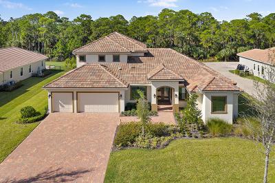 Palm City Single Family Home For Sale: 5211 SW Blue Daze Way