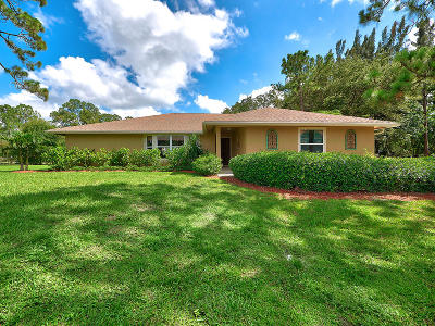 Jupiter Single Family Home Contingent: 12145 179th Court