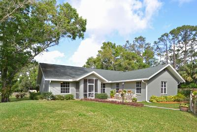 Jupiter Single Family Home For Sale: 16717 106th Terrace