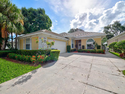 Palm Beach Gardens Single Family Home For Sale: 8552 Doverbrook Drive
