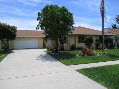 Boynton Beach FL Single Family Home For Sale: $325,000