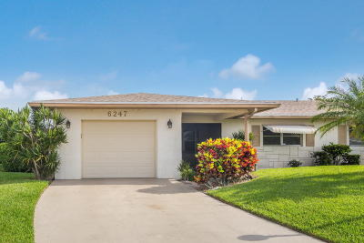 Delray Beach Single Family Home Contingent: 6247 Overland Place