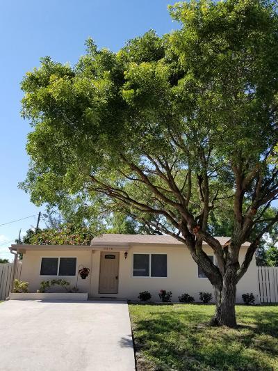 Boynton Beach FL Single Family Home For Sale: $187,900