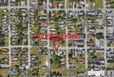 Delray Beach Residential Lots & Land For Sale: 715 NW 1st Street