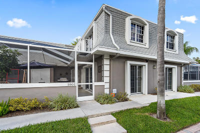 Palm Beach Gardens FL Townhouse For Sale: $249,900