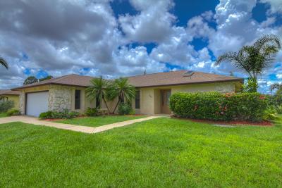 Port Saint Lucie, Saint Lucie West Single Family Home For Sale: 1320 SE Ladner Street
