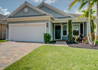 Lake Worth, Lakeworth Single Family Home For Sale: 9346 Wrangler Drive
