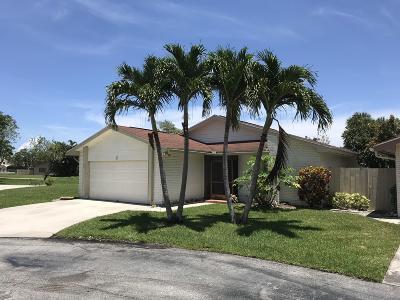 Boynton Beach FL Single Family Home For Sale: $225,000