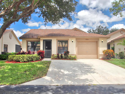 Boca Raton Single Family Home For Sale: 18550 Breezy Palm Way Way