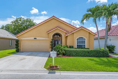 Delray Beach Single Family Home For Sale: 14071 Fair Isle Drive