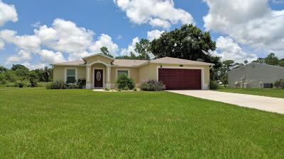 Vero Beach Single Family Home Contingent: 1965 23rd Place SW